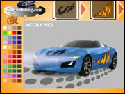 Acura NSX Coloring