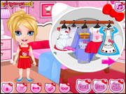 Barbie Hello Kitty Costumes