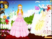 Blinky Wedding Dress Up