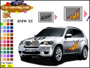 BMW X5 Coloring