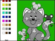 Cats Coloring Book