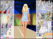 Catwalk Summer Fashion Dress Up
