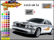 Jaguar XJ Coloring