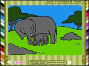 Kid's Zoo Coloring