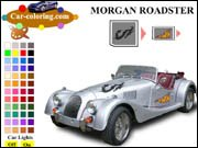 Morgan Roadster Coloring