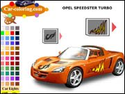 Opel Speedster Turbo Coloring