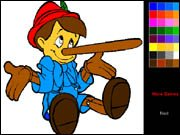 Pinocchio Coloring Book