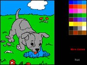 Puppy Dogs Coloring Book