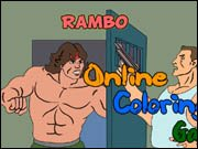 Rambo Online Coloring