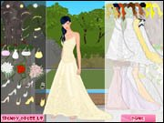 Trendy Bride Dress Up