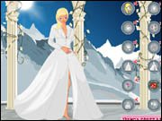 Winter Bride Dress Up